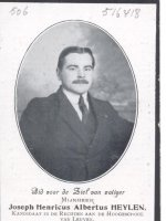 HEYLEN Joseph Henri Albert