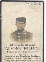 HILLEN Franciscus Alfons
