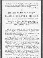 STERCKX Joannes Josephus