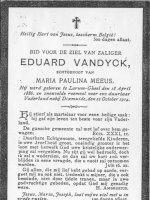VANDYCK Eduardus