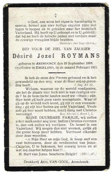 Roymans Désiré Josephus