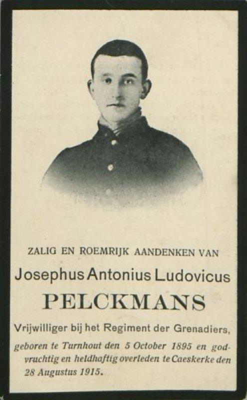 Pelckmans Jozef Antoon Lodewijk