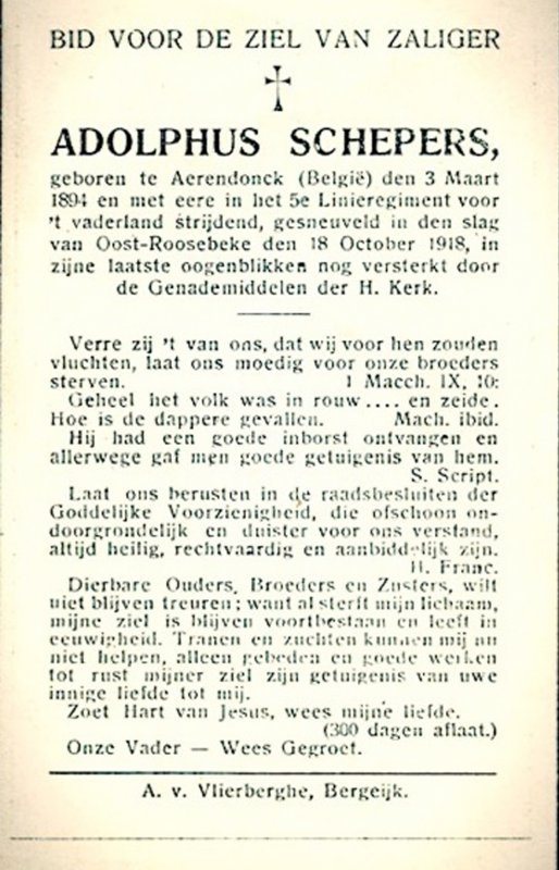 Schepers Adolph Joseph