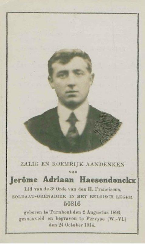 Haesendonckx Hieronymus Adriaan