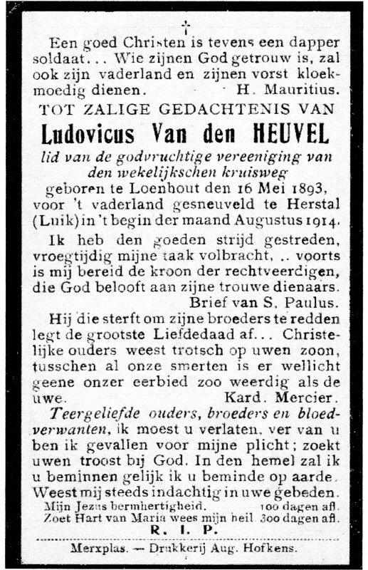 Van Den Heuvel Lodewijk (Louis)