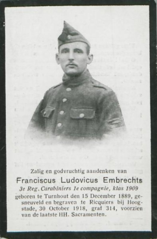 Embrechts Franciscus Ludovicus