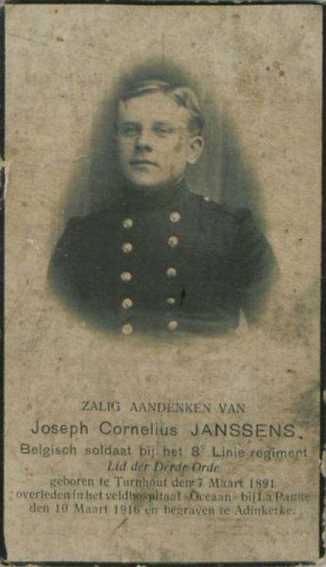 Janssens Josephus Cornelius Maria