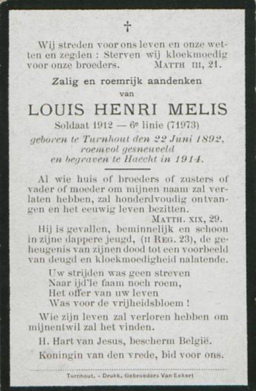 Melis Louis Henry