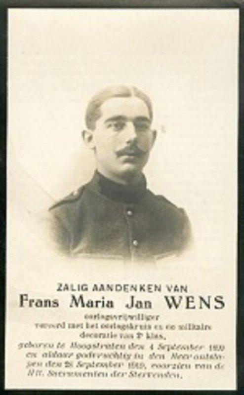 Wens Frans Marie Jan