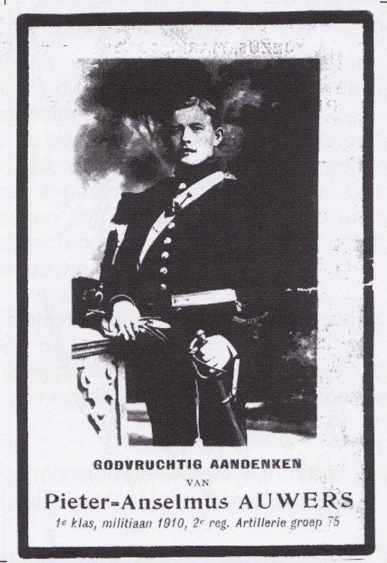 AUWERS Petrus Anselm