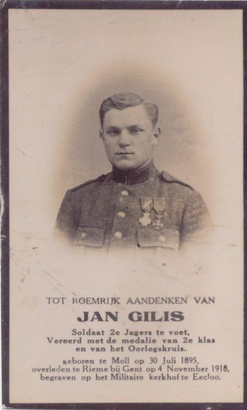 GILIS Jan Baptist