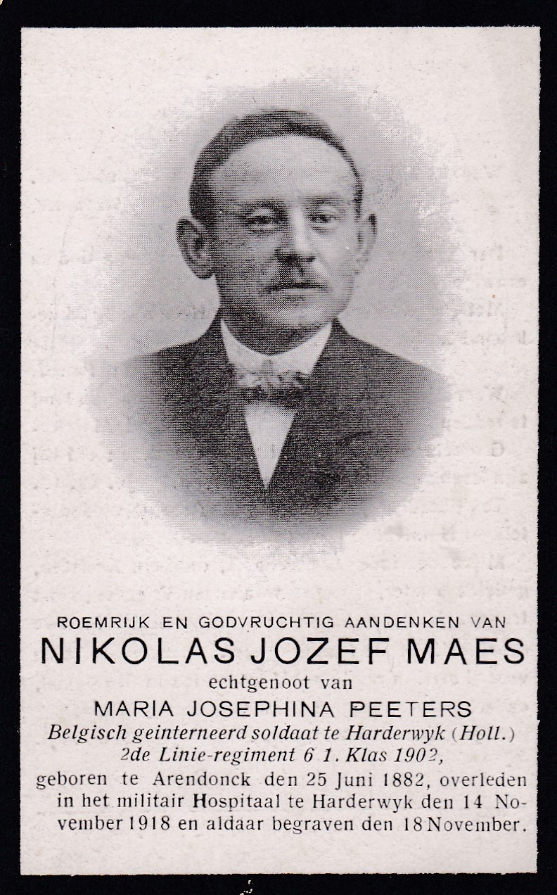 Maes Nicolaas Jozef