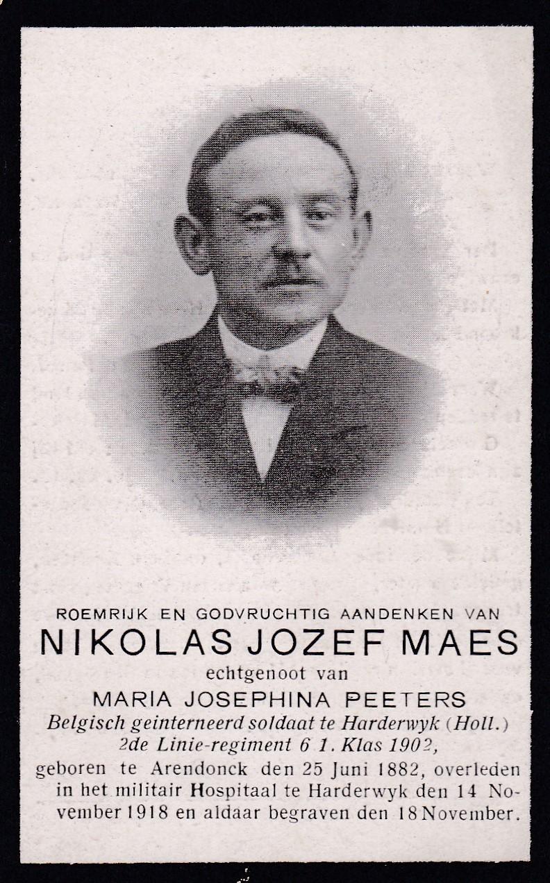 Maes Nicolaas Jozef