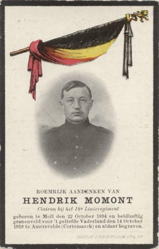 MOMONT Hendrik Karel