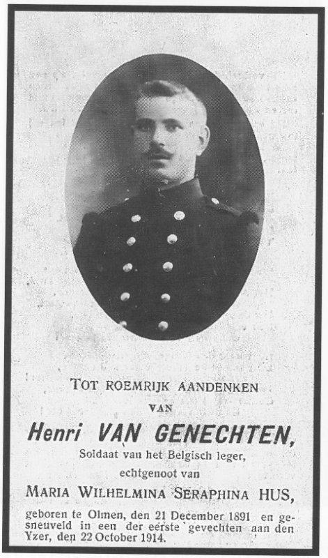 VAN GENECHTEN Hendrik