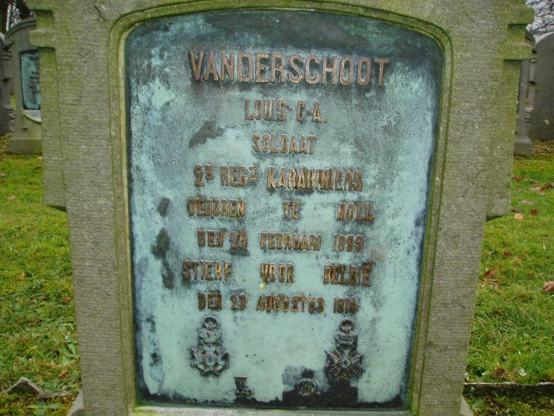 VANDERSCHOOT Clemens Adriaan