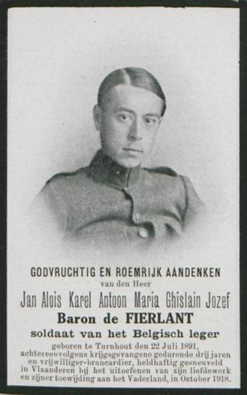 de Fierlant  Jan Aloïs Karel Antoon