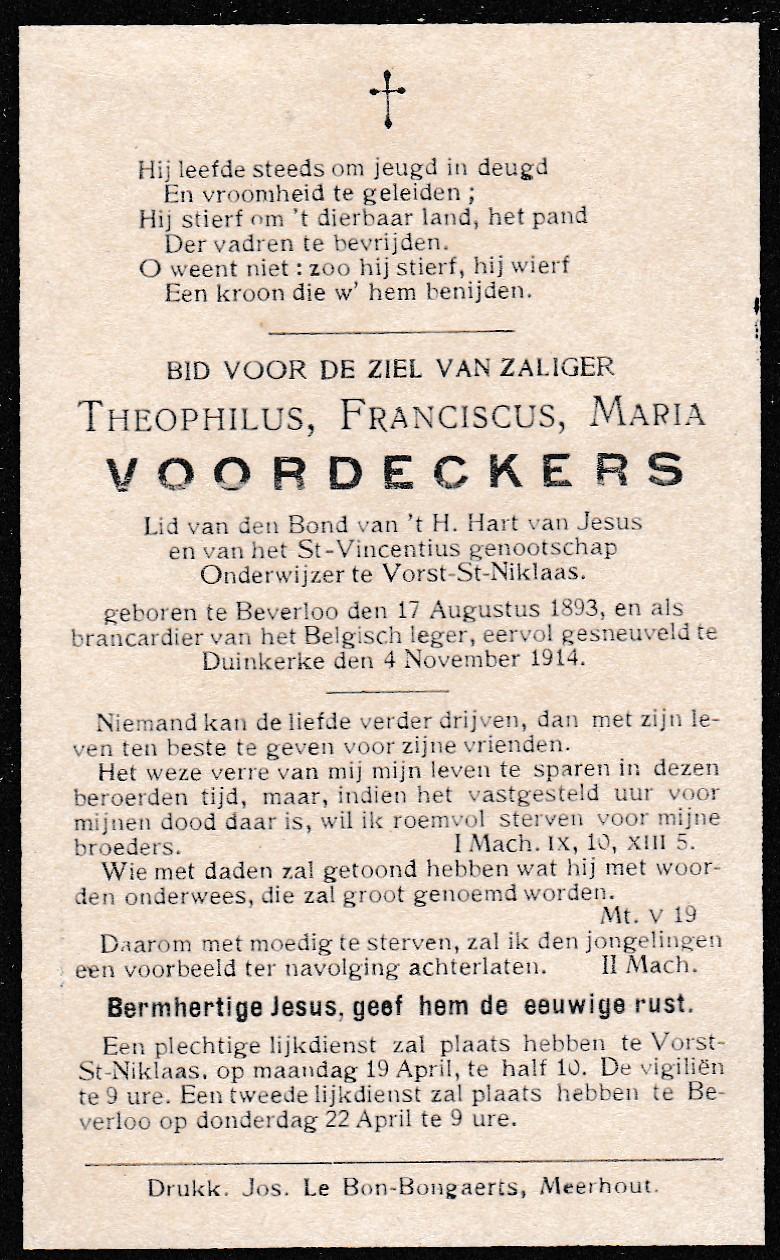 VOORDECKERS Theofiel